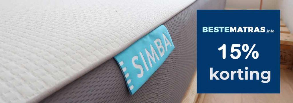 simba matras review korting