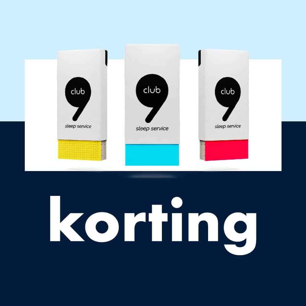 Club 9 Matras Korting