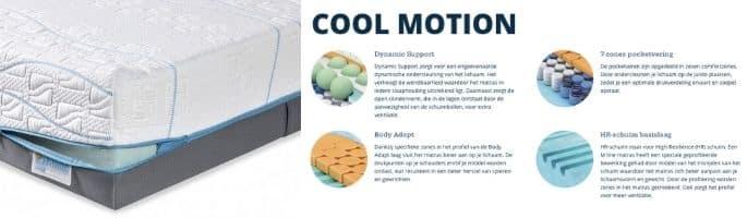 Cool Motion matrassen review M line