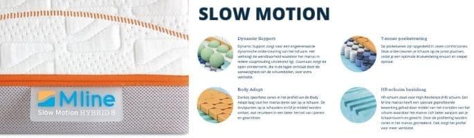 Slow Motion matrassen review M line