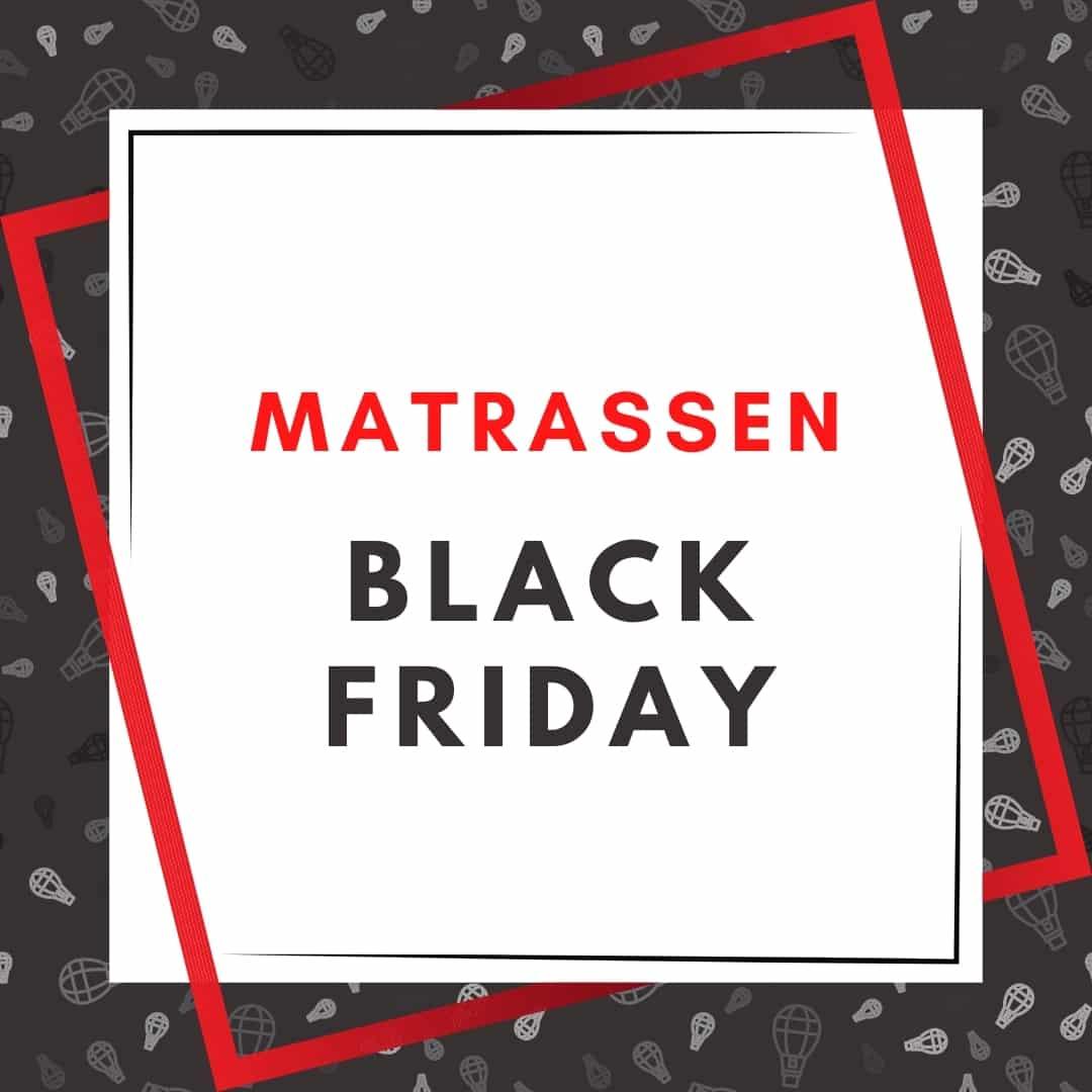 black friday matras