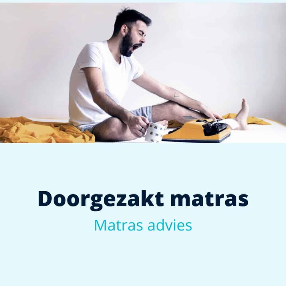 doorgezakt matras advies