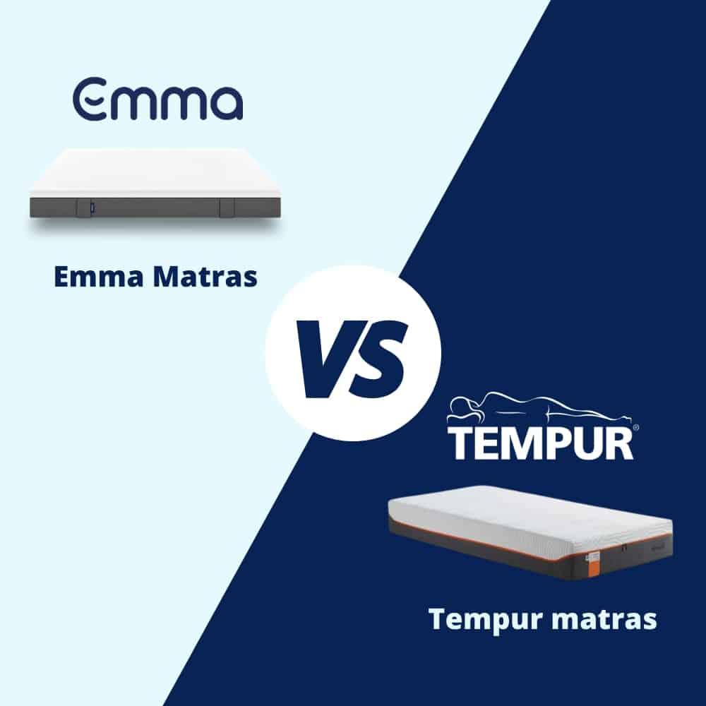 emma matras of tempur matras verschil