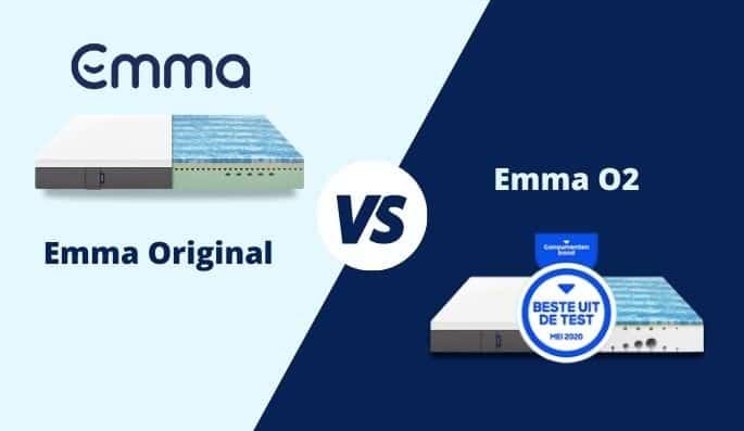 emma o2 of emma matras verschil