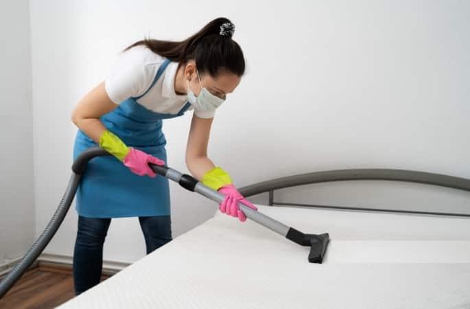 hoe reinig je een matras