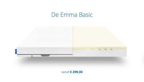 Emma Basic Matras Review Kortingscode Bestematrasinfo